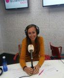 En el estudio de Radio Internacional
