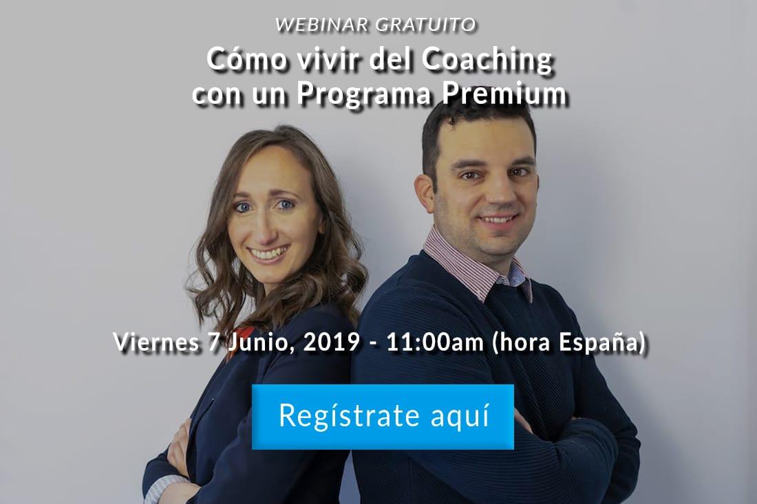 Vivir del coaching con un programa premium